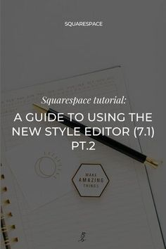 In part 1 of this mini style editor series we talked about how to use the site styles editor to customize your fonts. Ready for part 2? #squarespace #squarespacewebsite #squarespacetemplates #websiteideas #squarespacetips #webdesigner #wearethecreativeeconomy #createcultivate #paigebrunton Simple Website Design, Beautiful Website Design, Modern Website, Website Design Inspiration, Wall Text, Editor, Fonts, Web Design, Mini