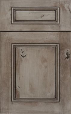 This is my new kitchen cabinet. Knotty Alder (Newman door style) with an ebony paint & glazed finish. Love it!