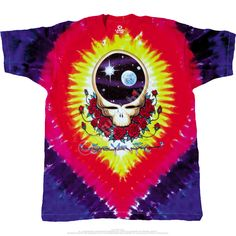 0cf12560f455 Grateful Dead - Space Your Face Rock Shirts