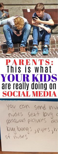 Kids and Social Media - This Behavior Is EXACTLY What Parents Should Know About Social Media   social media and kids safety   kids and social media for parents   teens and social media   should kids have social media   honeyandlime.co