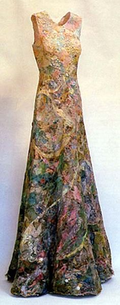 Memory Dress Project - Jenni Dutton - Click through to read about the inspiration and how the work evolved. The original inspiration was from patchwork and American pioneer women. S