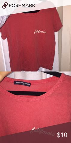 Brandy Melville Ali California Shirt Never worn Brandy Melville Tops