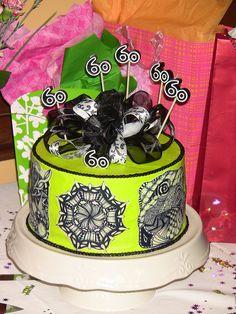 Zentangle Birthday Cake #1 by coloradojan, via Flickr