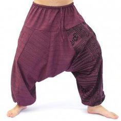 on sale 71b7b d1afb Aladdin con sánscrito símbolos de mezcla de algodón magenta Sanskrit  Symbols, Magenta, Aladdin Pants