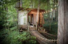 Casa na árvore em Atlanta, EUA