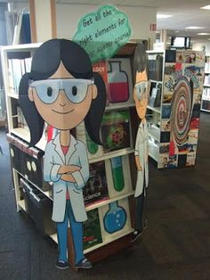Library Displays: Get all the right elements for your science course!