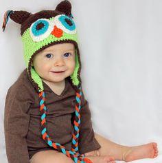 Owl Crochet Hat Baby Boy Beanie Baby Boy Hat, Owl Crochet Hat - Baby Boy Owl Hat on Etsy, $12.82 CAD