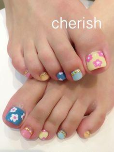 image of flower foot * | ☆ nail salon Cherish ☆