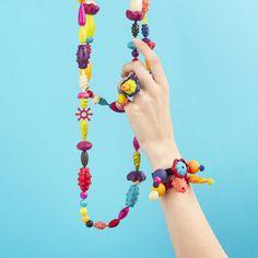 Korálky Pop Arty na nastrkovanie 300 ks Crochet Necklace, Jewelry, Fashion, Crochet Collar, Jewellery Making, Moda, Jewerly, Jewelery, Fashion Styles