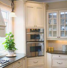 """Image result for 30"""" wide corner kitchen cabinet"""