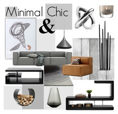 """Minimal Chic"" by szaboesz ❤ liked on Polyvore featuring interior, interiors, interior design, home, home decor, interior decorating, BoConcept, LSA International and barbarela11"