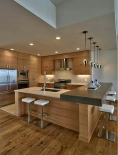 Kitchen design ..