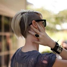 Haircut Style Short Highlighted Pixie