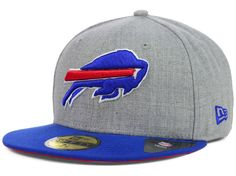 Buffalo Bills New Era NFL 2 Tone Heather Team 59FIFTY Cap Hats Dope Hats 0a5047d492c