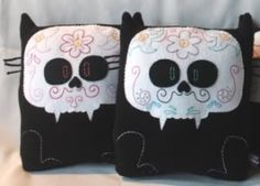 Sugar Skull Kitties