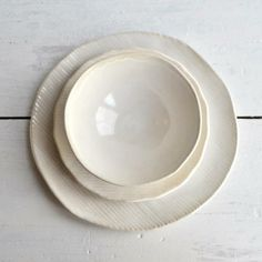 Minimalist dinnerware by Lee Wolf