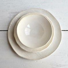 Minimalist dinnerware by Lee Wolf