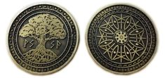 Fantasy Coin, LLC is raising funds for Fantasy Coins for Board Games, RPGs, LARP, or any occasion on Kickstarter! High quality metal coins for gaming or any occasion! Magic Coins, Mtg Altered Art, Coin Art, Painting Plastic, Fantasy Weapons, Tabletop Rpg, Coin Jewelry, Game Pieces, Gold Set