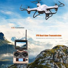JJRC H32GH 6-Axis Gyro 5.8G FPV with 2MP Camera Barometer Set High Quadcopter RTF