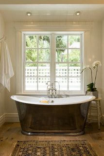 I love that kind of tub.