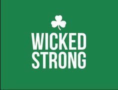 Wicked Strong Boston relief Card by SugarandType on Etsy, $20.00