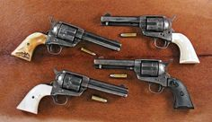 "By John Taffin Too many decades ago, I coined the phrase ""Perfect Packin' Pistol"". Over the years many dedicated sixgunners have taken up this phrase, Colt Single Action Army, Cowboy Action Shooting, Ranger, Lever Action Rifles, 357 Magnum, Cool Guns, Le Far West, Guns And Ammo, Firearms"