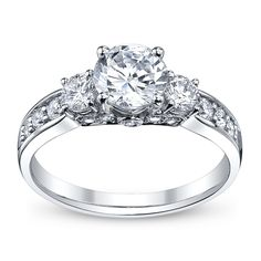 This is my ring! #seriously #hedidsogood Ladies 14K White Gold Engagement Ring