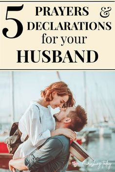 Do you find it difficult to pray for your husband? Here you'll find some sample prayers for your husband to help him to succeed in 5 key areas. #prayer #prayforyourhusband #marriage #marriagetips #strongmarriage #prayforyourspouse