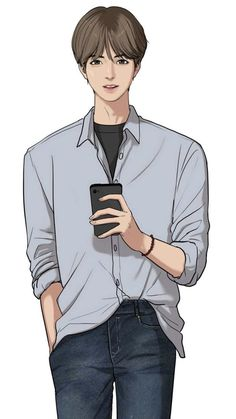he kinda looks Taehyung wth-- and Suho looks like Eunwoo from astro-- my lifee is a lieeeEe Yukine Noragami, Boy Illustration, Coffee Illustration, Webtoon Comics, Modelos 3d, Anime Love Couple, Korean Art, Animated Cartoons, Manga Characters