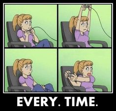 How I game...
