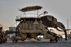 burning man elephant