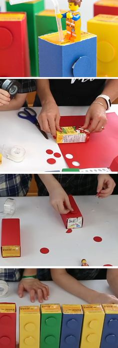 Lego Drinking Blockss | Birthday Party Ideas for Boys | DIY Lego Party Ideas for Boys