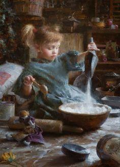 childhood paintings, Figurative, Figurative Painter, Oil paintings, Paintings, famous artist, Fruits, U.S., American Artist, American Painter, Morgan Weistling