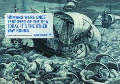 Greenpeace poster- oceans