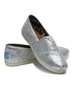 Love this Silver Glitter Classics - Youth on #zulily! #zulilyfinds