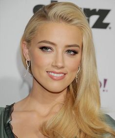 Amber Heard natural subtle makeup