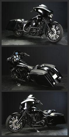 Bad Land 'Grand Funk' 2010 Harley-Davidson FLHX Bagger Custom (Re-Take). http://badland.net/hd-custom/harley-davidson-2010-flhx-bagger-custom-re-take/