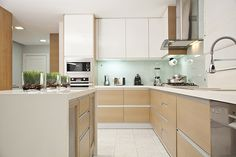 Lo óptimo en la cocina es combinar funcionalidad y estética.  REVISTA CLAVE! 43  Foto: Chris Falcony