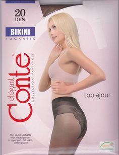 Conte elegant Tights Pantyhose BIKINI 20 DEN
