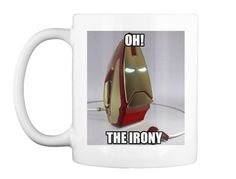 Discover Irony T-Shirt from Triple Helix Clothing, a custom product made just for you by Teespring. Call Happy, Happy Pills, Funny Tshirts, Mugs, Tableware, T Shirt, Awesome, Supreme T Shirt, Dinnerware