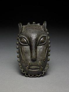 Sculpture Art, Sculptures, Leopard Face, Art Premier, African Masks, 3d Prints, African Jewelry, Tribal Art, British Museum