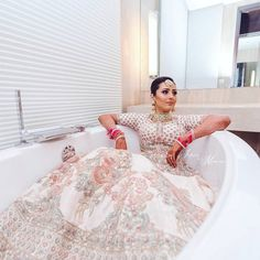 Best solo bride poses for weddings that you can get into for your photoshoot. Solo bridal photoshoot is in trend. Make your wedding album wonderful. Indian Wedding Photos, Indian Wedding Photography, Indian Weddings, Wedding Pictures, Lehenga Images, Bridal Lehngas, Indian Bridal Wear, Indian Wear, Punjabi Bride