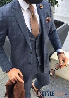 Wedding Guest Dapper in Checks