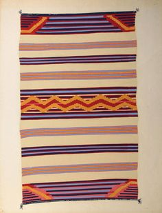 Navajo Blanket: style for covering hay bales at ceremony? Native American Blanket, Native American Rugs, American Indians, Navajo Weaving, Navajo Rugs, Southwest Rugs, Indian Blankets, Textiles, Indian Rugs