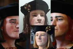 Richard III has changed his look three times in the last three years. In the latest version he is sporting unkempt mouse-coloured hair. But is that plausible?