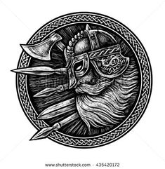 stock-photo-ancient-viking-head-in-a-ring-with-scandinavian-ornament-logo-for-mascot-design-graphic-435420172.jpg (450×461)
