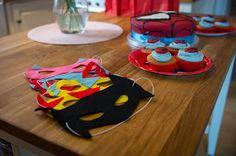 Christine Gore: Superhero Birthday Party