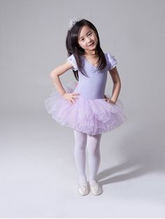 Girls Gymnastics Ballet Dance Dress Kids Princess Party Leotard Tutu Skirt 2 8Y