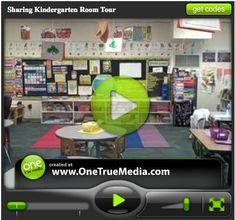 Video tour of a beautifully organized kindergarten classroom