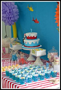 "Photo 1 of 20: Dr Seuss / Birthday ""Sophie's Dr Seuss Party"" 